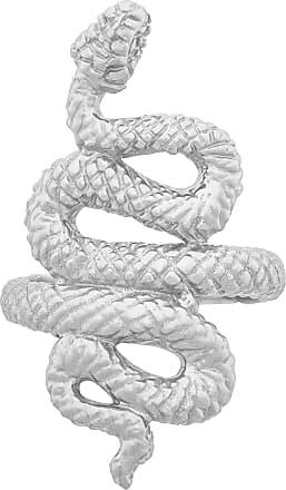 Zoe & Morgan Kundalini Snake Silver Ring - XL - Silver