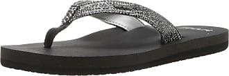 Reef Womens REEF STAR SASSY Flip Flop Sandles, Multicolour (Black/Silver/Bls), 37.5 EU
