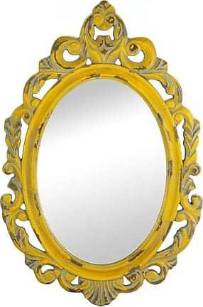 Zingz & Thingz Zingz and Thingz Yellow Wall Mirror