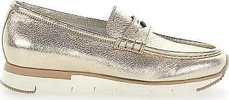 Santoni Slip On Shoes Metallic gold