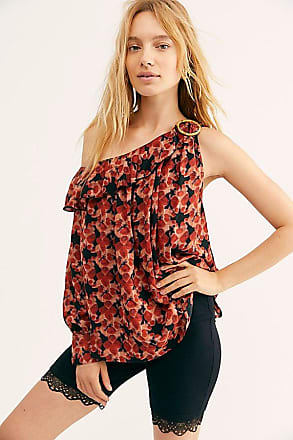 Free People Off Beat Printed Blouse by Free People
