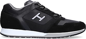 Hogan Sneaker low H321 Kalbsleder Logo schwarz