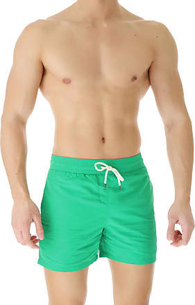 Ralph Lauren Swim Shorts Trunks for Men On Sale in Outlet, Verde Smeraldo Brillante, Nylon, 2019, L M S XS