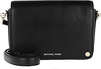 Michael Kors Jet Set Large Full Flap Xbody Black
