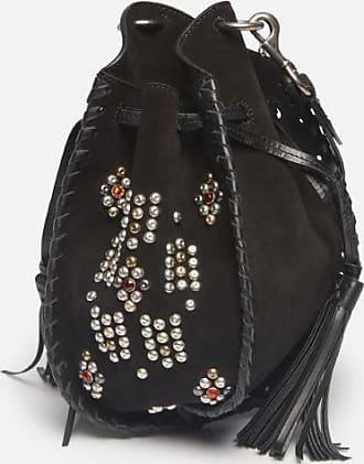 Isabel Marant Suede leather bucket bag