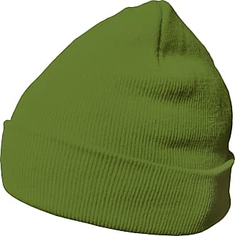 DonDon winter hat beanie warm classical design modern and soft lime