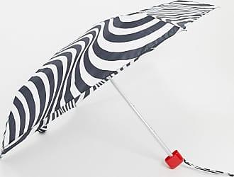 Lulu Guinness Tiny Optical Stripe Umbrella-Multi