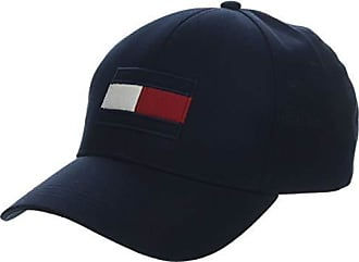 dd38a6aa3 Tommy Hilfiger Mens Cotton Flag Embroidery Baseball Cap, Tommy Navy, One
