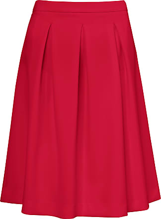 Peter Hahn Skirt made of techno stretch fabric Peter Hahn red