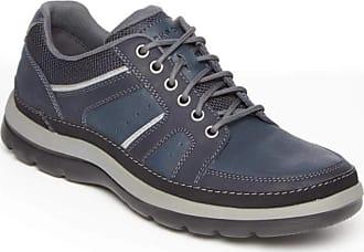 Rockport Mens Get Your Kicks Mudguard Blucher Get Your Kicks Mudguard Blucher Blue Size: 7.5 Wide