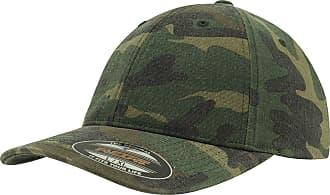Yupoong Flexfit Garment Washed Camo Cap (L/XL)