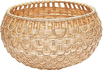 Dimond Home Medium Natural Fish Scale Basket
