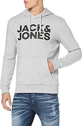JACK /& JONES Jjecorp Logo Sweat Hood Noos Cappuccio Uomo