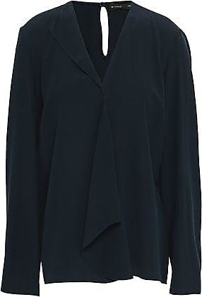Etro Etro Woman Long Sleeved Top Storm Blue Size 42