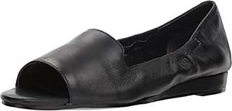 Aerosoles Womens Tidbit Ballet Flat, Black Leather, 8 M US