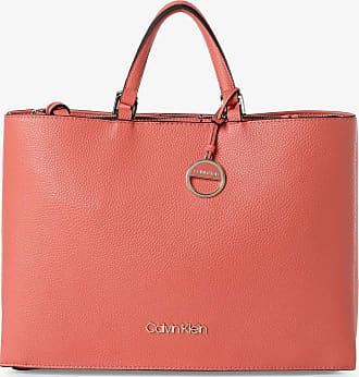 Calvin Klein Damen Shopper rot
