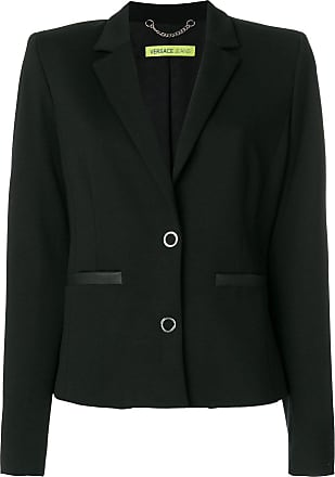 Versace Jeans Couture Blazer slim - Preto