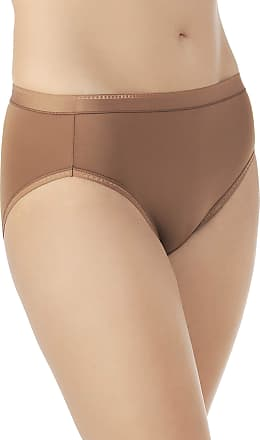 b5af0ed0df98 Vanity Fair Womens Comfort × 3 Collection Hi Cut Panty 13164 Briefs, More  Coffee,
