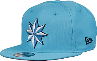 New Era Captain Marvel 9fifty Snapback Cap Colour Injection Neon Blue - One-Size