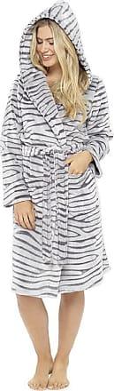Foxbury Ladies Flannel Fleece Embossed Animal Gowns by Foxbury LN676 8-10