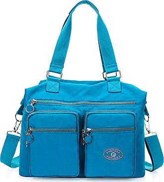 GFM Womens Nylon Cross Body Shoulder Bag Handbag (88) (S4-752SB-TX)