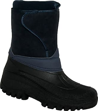 Groundwork NEW LADIES HORSE RIDING YARD WATERPROOF STABLE WALKING RAIN SNOW WINTER SKI WARM FARM MUCKER BOOTS NAVY 4