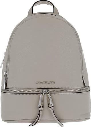 Michael Kors Rhea Zip MD Backpack Pearl Grey