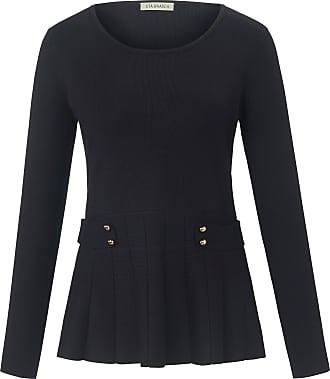 Uta Raasch Round neck jumper long sleeves Uta Raasch black