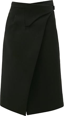 Wardrobe.NYC Wardrobe.nyc - Release 05 Wool Wrap Midi Skirt - Womens - Black