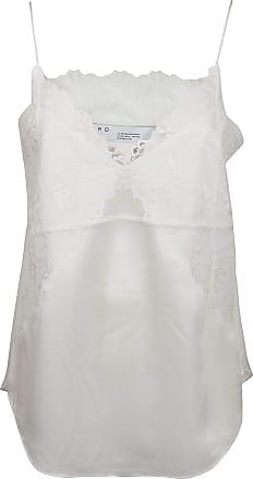 Iro Fashion Woman WP16BRANDAWHI02 White Viscose Tank Top | Spring Summer 20