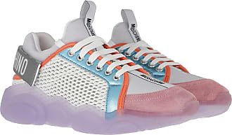 Moschino Sneakers - Orso Sneaker Mix White - colorful - Sneakers for ladies