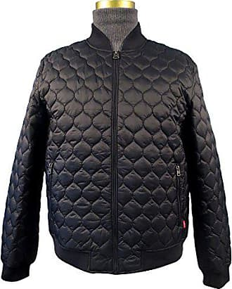 Levi's Mens Packable Quilted Light Weight Nylon Jacket, Black, X-Large
