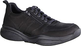 Xsensible SWX3 Black (Black) - Comfort Shoe - Mens Shoes Trainer/Lace-Up Shoe, Black, Leather (stretchleather) Black Size: 11.5 UK