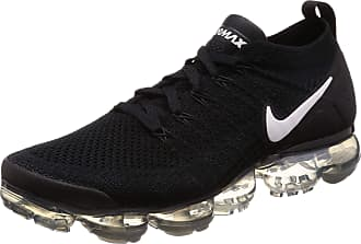 Nike Mens Air Vapormax Flyknit 2 Low-Top Sneakers, Multicolour (Black/White/Dark Grey/Metallic Silver 001), 8.5 UK