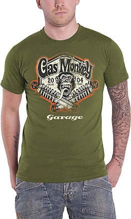 Gas Monkey Garage Officially Licensed - Spring Coils T-Shirt T Shirt GMG Original (Green, XX-Large)