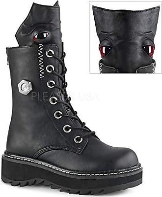 4224cd0bd31535 Demonia LILITH-220 Blk Vegan Leather UK 4 (EU 37)