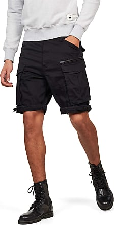 G-Star Mens Rovic Zip Loose 1/2 Not Applicable Wide Short, Black (Black 990), 48S (Manufacturer size: 29)