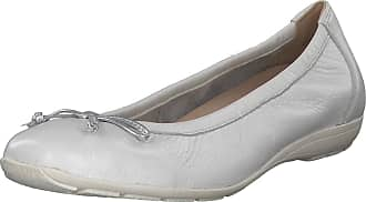 Caprice Womens Ballet Flats White Size: 6 UK