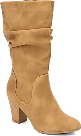 xoxo Womens, Strasburg Boot, Tan, Size 9.0 US / 7 UK US