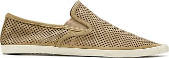 Osklen perforated slip-on sneakers - NEUTRALS