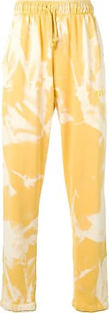 424 Calça tie dye - Amarelo
