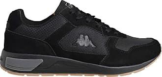 Kappa Mens VIPERA Track Shoe, Negro/Gris, 10 UK