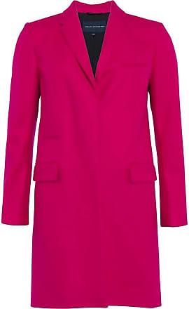 French Connection Platform Felt Smart Coat 14 Pink