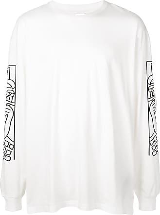 Haculla Camiseta Guy And His Gun mangas longas - Branco