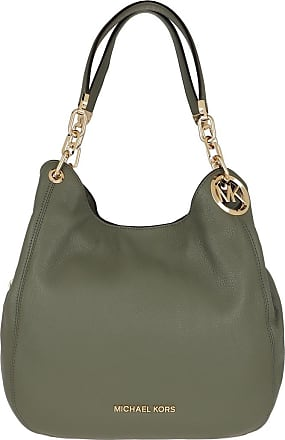 Michael Kors Lillie Large Chain Tote Army Green