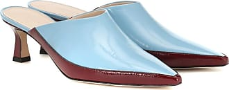Wandler Bente patent leather mules