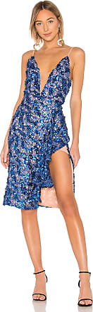 X by NBD Thomas Embellished Dress in Blue