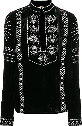 Dodo Bar Or Blusa com bordado - Preto