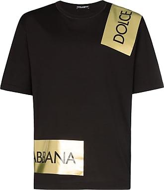 Dolce & Gabbana Camiseta com logo - Preto