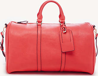 Sole Society Womens Cassidy Weekender Vegan Leather In Color: Poppy Bag From Sole Society